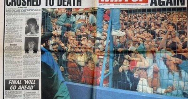 1989 Hillsborough Disaster A Human Crush Occurs At Hillsborough