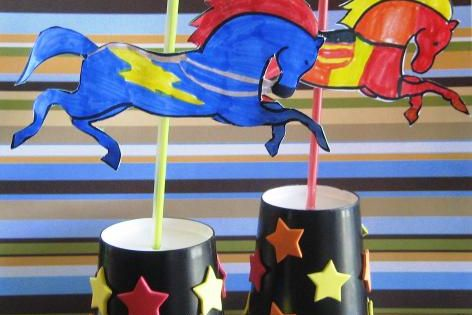 Carousel Horse Craft use the