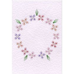 form a lines stitching cards free