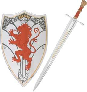 Chronicles Of Narnia Peter S Sword And Sheild With Images