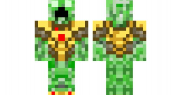 Minecraft Skin Creeper-king-real Check Out Our YouTube