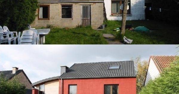 Maison r nov e avantapres renovation maisons r nov es for Extension maison yourte