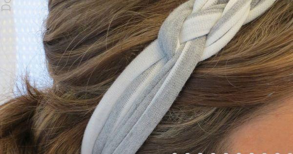 DIY Sailor Knot Headband @Sarah Pixler I was thinking that these would