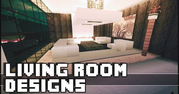 Minecraft Modern House Furniture Ideas Homeminimalis Com Living Design Living Room Designs Minecraft Room