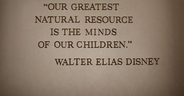 ❤️ Walt Disney Quote