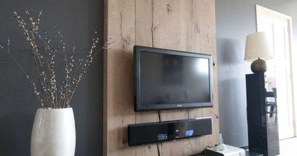coin t l avec meuble d co et id e originale coin tv le coin et tv. Black Bedroom Furniture Sets. Home Design Ideas