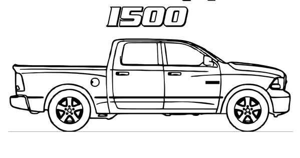 truck color book pages