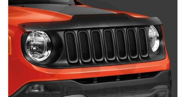 Jeep Renegade Front Air Deflector With Images Jeep Renegade 2015 Jeep Renegade Jeep