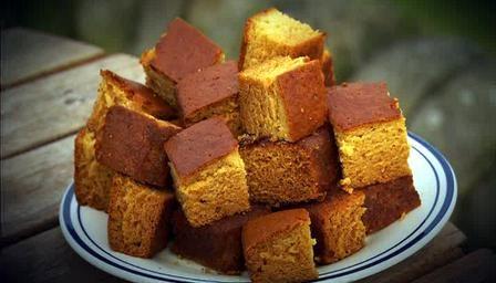 Marmalade Custard Cake Recipe