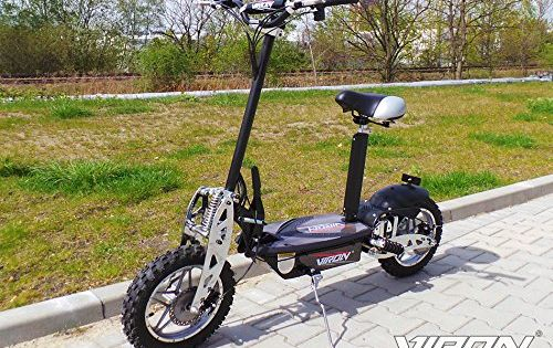 elektro scooter 1000 watt e scooter roller 36v 1000w elektroroller viron v 7 w nsche. Black Bedroom Furniture Sets. Home Design Ideas
