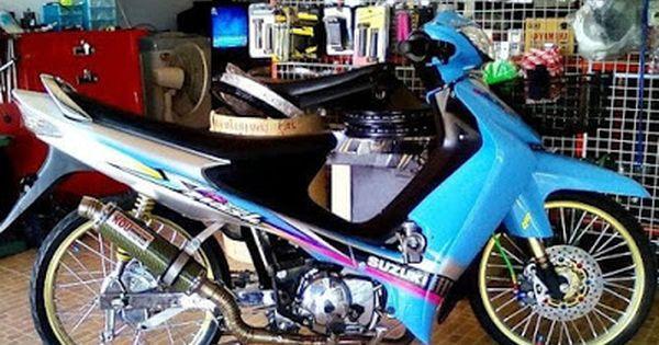 Modifikasi Motor Suzuki Smash 110 Gambar