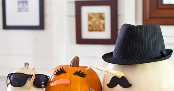 for @Mary Mullaly HGTV How-To: 3 Easy Pumpkin Crafts for Halloween