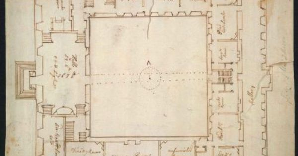 Plan Of The Interior Of Syon House Floorplan Pinterest