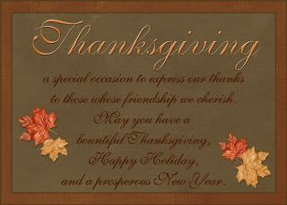 Thanksgiving Verses For Cards Free