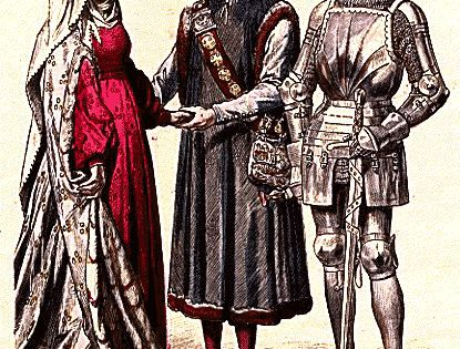 Lady 39 S Dress Mid 1400 Townsman Of Ravensburg 1429