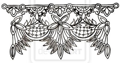 Lace Tattoo By Metacharis On Deviantart Lace Garter Tattoos Lace Tattoo Lace Drawing