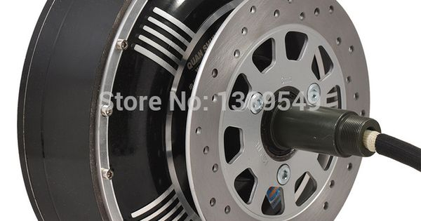 Electric car hub motor 273 4000w extra type v3 in wheel for Protean electric motor for sale