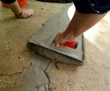 Repair Cracks In A Concrete Driveway Diy Home Repair Concrete Diy Home Improvement
