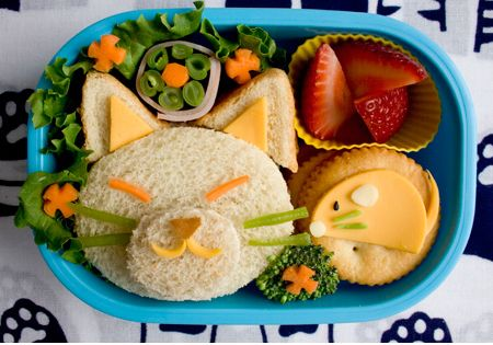 Someday, I wanna make our kids adorable lunches, like these 20 bento