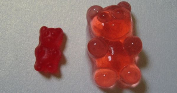 Vodka soaked Gummy bears? not really a recipe. Who needs jello shots