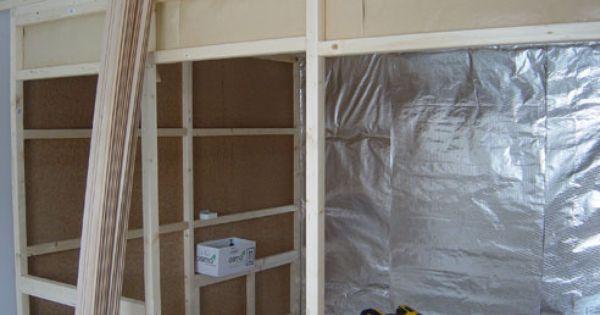 Sauna Rahmenkonstruktion Sauna Konstruktion Pinterest