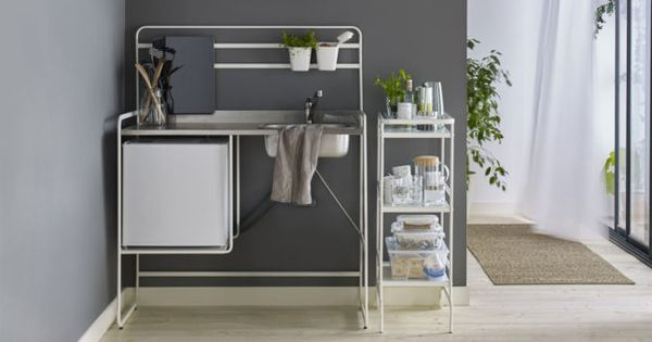 Mini cucina economica Ikea Sunnesta  Idee per la cucina  Pinterest ...