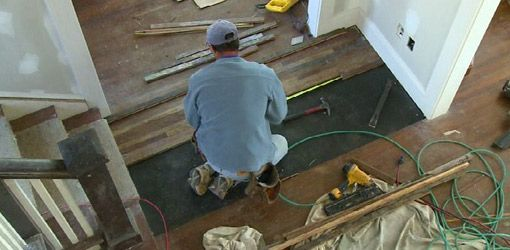 How To Patch A Hole In A Wood Floor From A Furnace Grate Wood