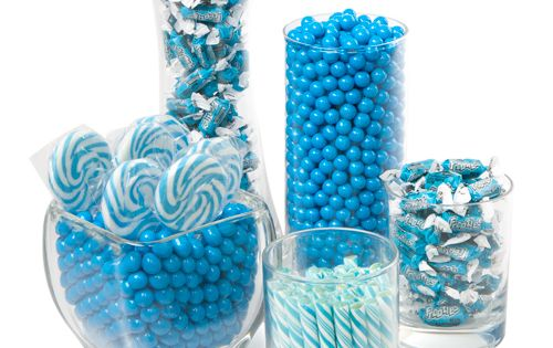 Blue - Baby Shower Candy Buffet Kit or Pink candy bar