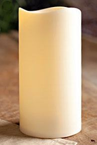 Outdoor Battery Operated Candle 4 5 X 9 With Timer Batteries Included Red Candles Candle Lanterns Candles