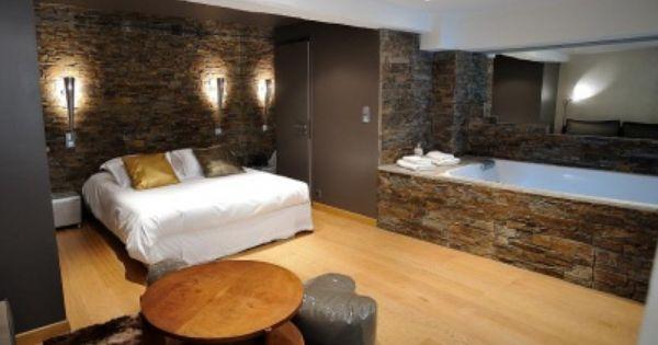 Epingle Sur Hotel Et Chambre Avec Jacuzzi Privatif