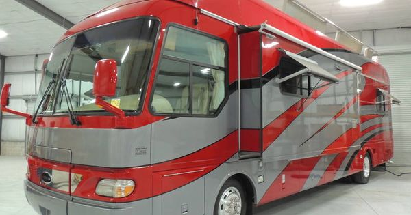 2004 airstream patio deck 3900 class a diesel rv for sale by owner in orange city florida. Black Bedroom Furniture Sets. Home Design Ideas