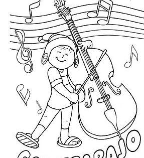 Fichas Para Pintar Instrumentos Musicales Musica Para Niños Actividades Musicales Instrumentos Musicales Para Niños