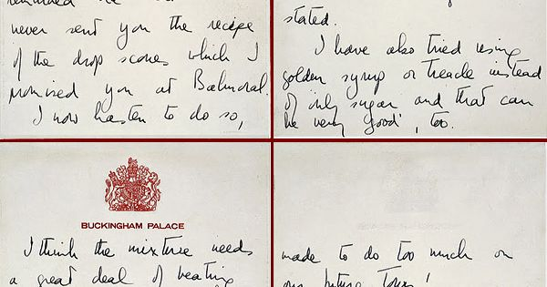 Queen sends Eisenhower her drop scones recipe (1960 | Drop Scones ...
