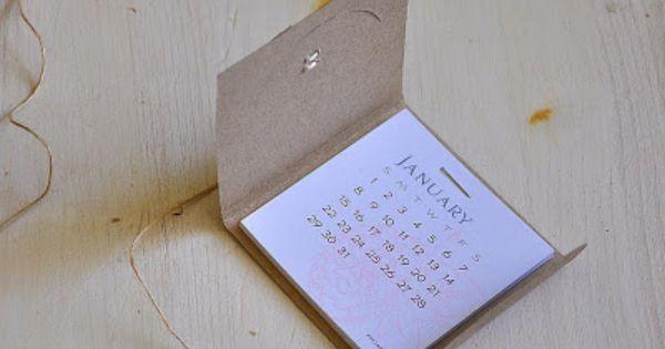 Calandar Basics Revisited Mini Calendars Diy Calendar Simply