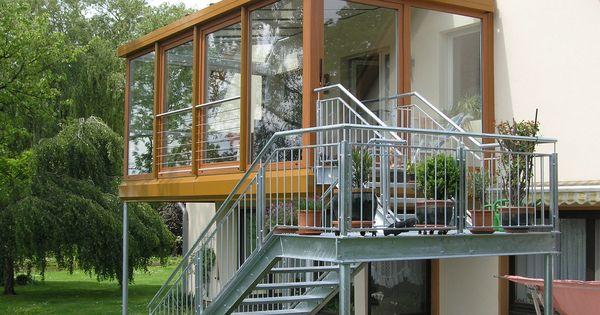 balkon terrasse bauen kosten ideen aus stahl dirk john haus au en pinterest. Black Bedroom Furniture Sets. Home Design Ideas