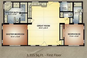 Small Open Floor Plan Cabins Google Search Cabin Floor Plans Log Cabin Floor Plans Cabin Floor