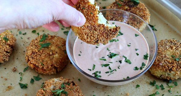 Gluten Free Cauliflower Fritters gluten free / g free / gf