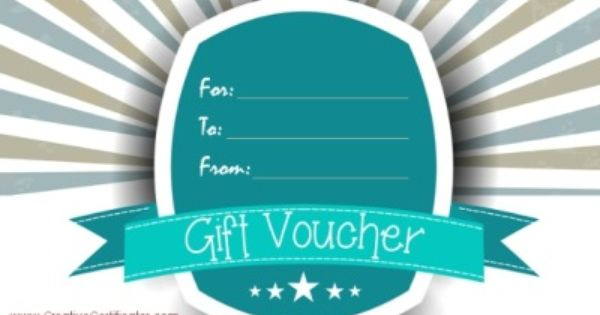 Gift Voucher Template Free Printable Gift Certificates Gift Certificate Template Printable Gift Certificate
