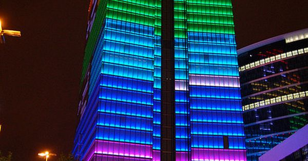 Rainbow Buildings☁ Rainbows Color Colors