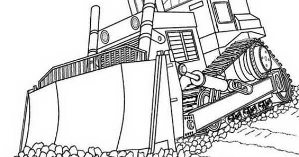 road construction equipment coloring pages - photo#43