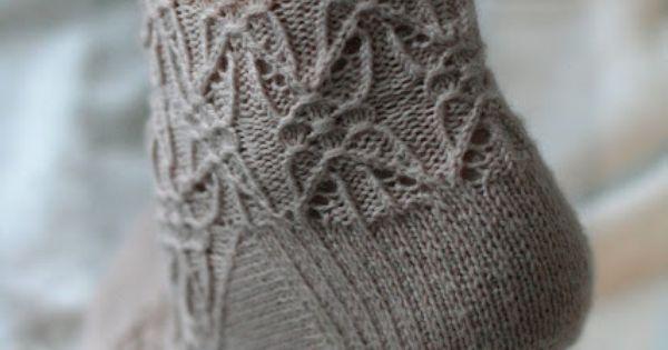 Cap Knitting Patterns : Gothic Spire socks - http://www.ravelry.com/patterns/library/gothic-spire-soc...
