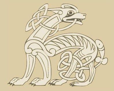 Celtic Dog Design Keltische Symbole Keltisch Stickerei