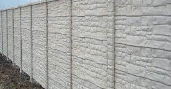 Concrete Fence Walls Superior Concrete Products Inc
