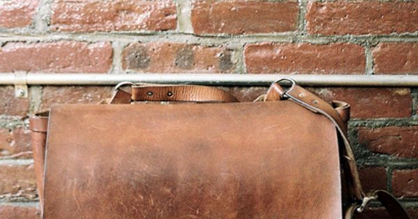 Man Bag on brick. Classic styling!