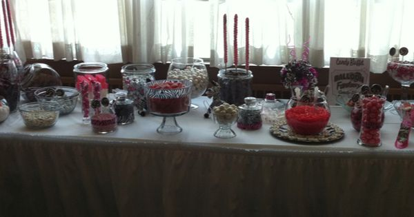 Candy Buffet At My 50th Party My 50th Birthday Party Pinterest More 5