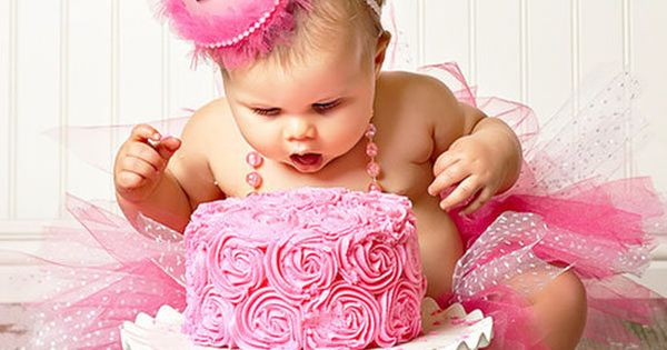 Adorable Pretty in Pink 1st Birthday Party photo idea