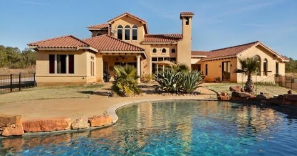 Hill Country Acreage Homes With Pools Near Leander Tx 78641 Pool Houses Backyard Pool Real Estate