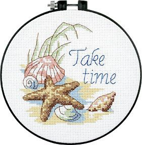 Beginners Counted Cross Stitch Starter Kit Octopus Cross Stitch Kit With Hoop