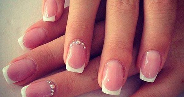 Top 50 Most Stunning Wedding Nail Art Designs | Hairstyles, Nail Designs,