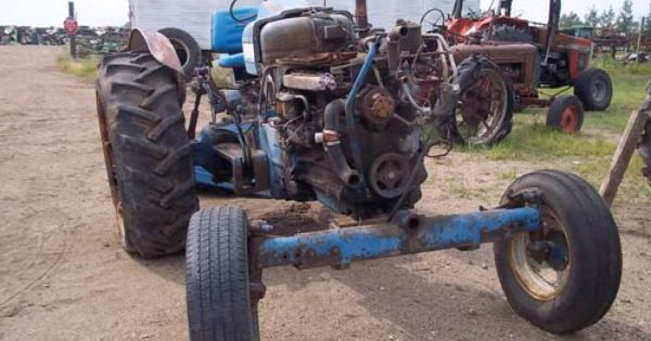 Ford 5000 Tractor Ready To Part Out Ford Parts Ford Tractor Parts Tractors